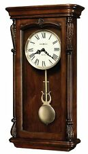 "625-378 ""HENDERSON"" HOWARD MILLER WALL CLOCK  DUAL CHIMES & AUTO NIGHT OFF625378"