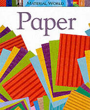 Paper (Material World) Claire Llewellyn New Book