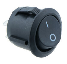 On/Off Round Circular Rocker Switch Car Dash Boat 12V