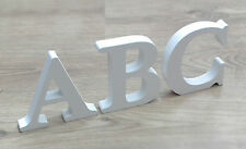 REDUCED! Free Standing White Wooden Mdf Letters NOW £1.50 Per letter!