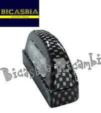 7450 - LUCE TARGA A LED IN METALLO CARBON LOOK UNIVERSALE - BICASBIA CERIGNOLA