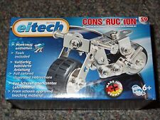 Eitech Motorbike C59 Construction Building Toy Metal Steel Kit Model