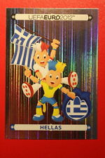 Panini EURO 2012 N. 78 POLSKA HELLAS MASCOTTE NEW With BLACK BACK TOPMINT!!