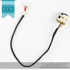 New! HP G62 Laptop AC DC Jack Power Socket Port Plug Connector w/ Cable Harness