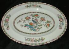 "Wedgwood Kutani Crane Fine China 14"" OVAL SERVING PLATTER FREE SHIPPING!"