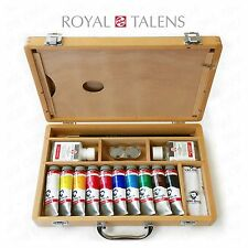 Royal Talens - Van Gogh Acrylic Art Set in Premium Wooden Case