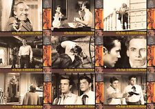 THE WILD, WILD WEST SEASON 1 1998 RITTENHOUSE COMPLETE BASE CARD SET OF 100 TV