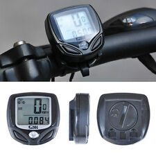 New Waterproof Wireless Computer Bike Speedometer Odometer LCD SD-548C