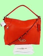 COACH 34312 SCOUT Coral Pebble Leather Hobo Shoulder Bag Msrp$325 *FREE SHIPPING