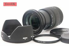 Canon EFs Fit Sigma 17-70mm F2.8-4.5 DC Macro Lens & Accessories *FREE P&P*