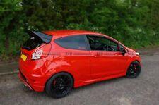 FRP Fiber Rear Spoiler Wing Lip Aero Kit For Ford Fiesta ST Facelift RS Style