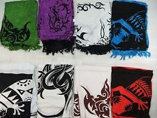 *US SELLER*Lot of 10 Celtic tattoo hippie pagan wiccan tapestry sarong beach...