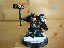 CLASSIC METAL SPACE MARINE CAPTAIN WITH HAMMER PAINTED (1613)