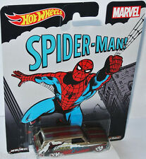 Marvel -  1964 CHEVY NOVA DELIVERY * SPIDER MAN * - 1:64 Hot Wheels