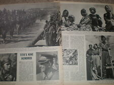 Photo article progress of the war against Germany in Yugoslavia 1945