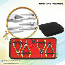 "Prestige Jewellery making tools Kit Slim Line Super Fine Pliers Set 5"" # 696"