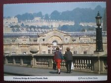 POSTCARD SOMERSET BATH - PULTENEY BRIDGE & GRAND PARADE