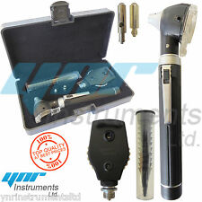 YNR LED F.O Otoscope Ophthalmoscope Opthalmoscope ENT Diagnostic Examination Set