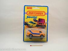 Matchbox Superfast MB 68 Chevy Van version peu courante, neuf/blister (#A20)