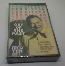 Tex Ritter - Out of the Past - Cassette - SEALED