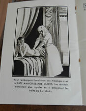 ART DECO  BATH SALTS PAMPHLET   A GEM OF ILLUSTRATIONS   BOUDOIR SEXY FUN