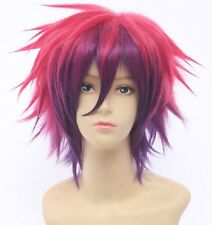 No Game No Life Sora Short Anime Cosplay Costume Hair Wig Party Wigs for Men