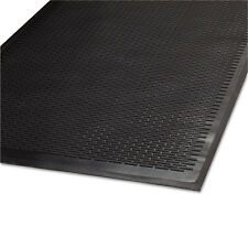Guardian CleanStep Outdoor Rubber Scraper Mat, Polypropylene, 36 x 60, Black, EA