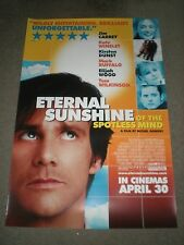 ETERNAL SUNSHINE OF THE SPOTLESS MIND - ORIGINAL SS BRITISH POSTER