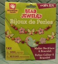 Bead Jewelry Craft Kit Makes Necklace and Bracelet