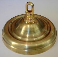 CANOPY SPUN BRASS SCREW COLLAR LOUP AND ALL PARTS LAMP REFERBISH REPAIR 102
