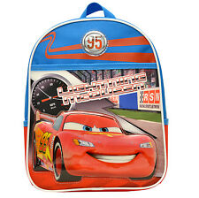 "New Disney Cars Mcqueen Mini 12""School Bag Backpack School Gift Official License"