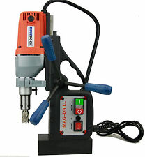 """PACKAGE DEAL - 1"""" ANNULAR CUTTERS & BLUEROCK ® TOOLS BRM-35A MAGNETIC DRILL MAG"""