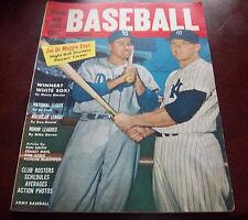Street and Smith's Yearbook Baseball 1956 cover Mickey Mantle ,Duke Snider