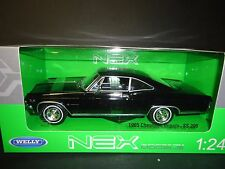 Welly Chevrolet Impala SS396 1965 Black 22417 1/24