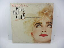 MADONNA WHO'S THAT GIRL  - VINILE 12 ''