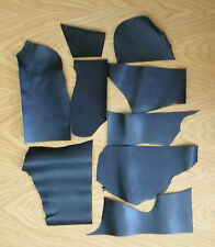 LEATHER COWHIDE OFF CUTS PACK, ASSORTED COLOURS, 400 GM ,1.6 - 2.2 MM