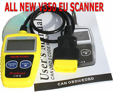 CAR DIAGNOSTIC SCANNER FAULT CODE READER CAN BUS OBD2 EU model