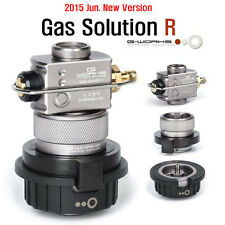 New G Works Gas Solution R with Saver Butane Multi Adapter Set Duralumin Upgrade