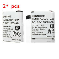 2x 1650mAh Battery For MOTOROLA HKNN4002A KEBT-071-A T4800 MC220 MJ270 MR350