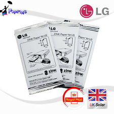 30 Sheets LG Print Paper Film ZINK for Pocket Photo PD221 PD233 PD239 PD251