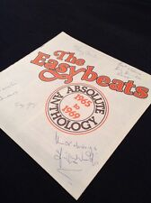 THE EASYBEATS ABSOLUTE ANTHOLOGY BOOKLET SIGNED BY ALL 5 INCLUDING Stevie Wright
