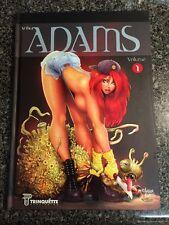 THE ART OF ARTHUR ADAMS VOLUME ONE HARDCOVER SKETCHBOOK WONDER WOMAN STAR WARS