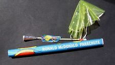 1968 McDonalds Ronald McDonald Parachute Toy NEW
