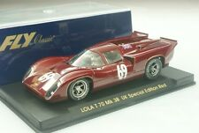 Fly Ref.  S31 Lola T70 MKIIIB - UK Special Edition #69  NEW 1/32