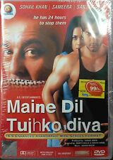 Maine Dil Tujhko Diya - Sohail Khan, Sameera Reddy - Official Hindi Movie DVD AL