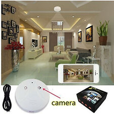 HD Hidden Camera Smoke Detector Camcorder Video Recorder Mini Security DVR