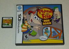 Disney's PHINEAS and FERB - Phineas and Ferb Ride Again (NintendoDS) *2 GAMES!*