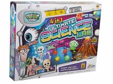CHILDRENS KIDS GIANT 4 IN 1 ULTIMATE SCIENCE EXPERIMENT LAB TOY SET R09-0014