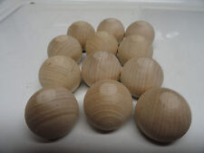 "12 -1 1/4""Wooden Balls/Paint/Unfinished/Craft Supplies/Wood Shapes"
