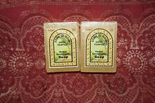 Lot x2 Song of INDIA TEMPLE Glycerin Bar Soap 100 grams 3 oz ea *FREE SHIPPING*